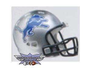Detroit Lions NFL Riddell Pocket Pro Revolution Helmet 2009-2010 (Qty. of 10)