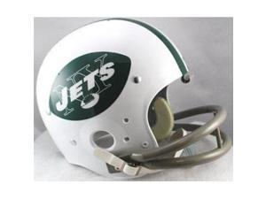 New York Jets 1965-1977 Riddell NFL TK 2-Bar Suspension Throwback FS Helmet