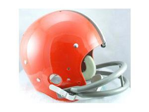 Cleveland Browns 1962-1974 Riddell NFL TK 2-Bar Suspension Throwback FS Helmet