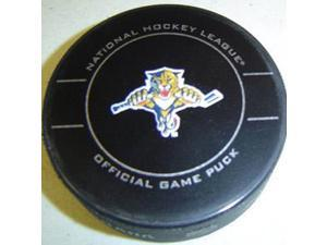 Florida Panthers NHL Hockey Official Game Puck 2009-2010