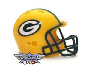 Green Bay Packers NFL Riddell Pocket Pro Revolution Helmet (Qty. of 10)
