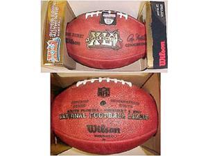 Super Bowl 41 XLI Wilson Official NFL Game Football