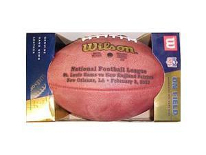 Super Bowl 36 XXXVI Wilson Official NFL Game Football