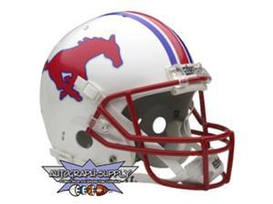 Southern Methodist Mustangs Authentic Full Size Helmet