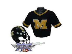 Franklin Missouri Tigers NCAA Football Helmet and Jersey Set