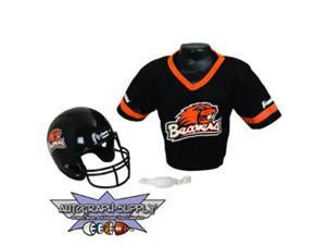 Franklin Oregon State Beavers NCAA Football Helmet and Jersey Set