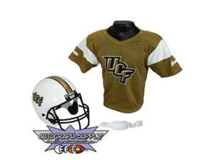 Central Florida Gold Knights NCAA Football Helmet and Jersey Set