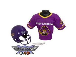 East Carolina Pirates NCAA Football Helmet and Jersey Set