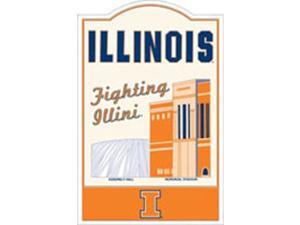 Riddell Illinois Fighting Illini Nostalgic Metal Sign