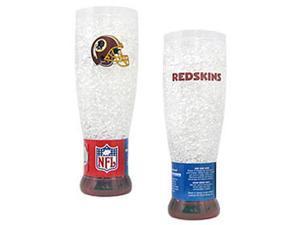 Washington Redskins Crystal Pilsner Glass