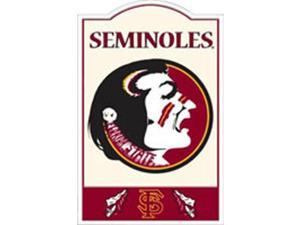 Riddell Florida State Seminoles Nostalgic Metal Sign