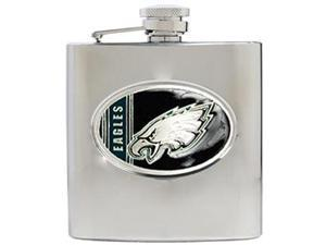 Philadelphia Eagles - 6oz Stainless Steel Hip Flask