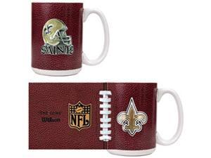 New Orleans Saints - 2pc GameBall Coffee Mug Set