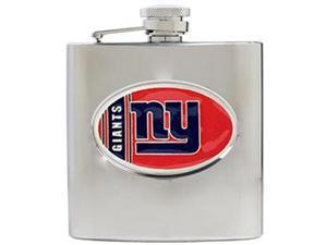 New York Giants - 6oz Stainless Steel Hip Flask