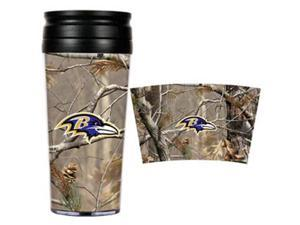 Baltimore Ravens - NFL Open Field Travel Tumbler