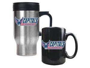 Washington Capitals - Travel Mug & Ceramic Mug set