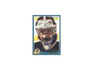 Steve Shields, Boston Bruins, 2003 Opee Chee Autographed Card