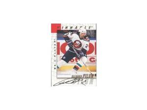 Richard Pilon, New York Islanders, 1998 Pinnacle Be A Player Certified Autograph