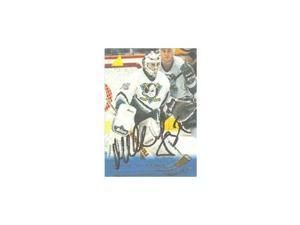 Mikhail Shtalenkov, Anaheim Mighty Ducks, 1995 Pinnacle Autographed Card