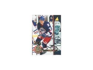 Michal Grosek, Winnipeg Jets, 1994 Pinnacle Autographed Card