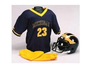 Michigan Wolverines Youth NCAA Team Helmet and Uniform Set - Small (Ages 4-6)