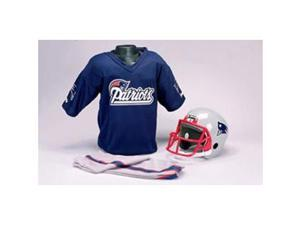 New England Patriots Youth NFL Team Helmet and Uniform Set - Small (Ages 4-6)