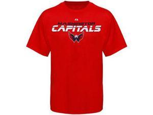 Washington Capitals NHL Attack Zone Red T-Shirt - XL
