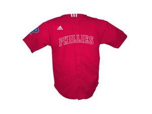 Philadelphia Phillies Adidas Red MLB Youth Replica Jersey - Youth-M