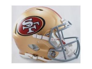 San Francisco 49ers Authentic Speed Football Helmet