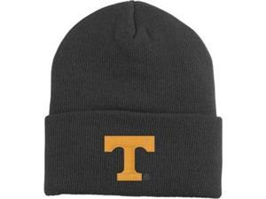 Tennessee Volunteers Black Adidas Cuffed Knit Hat