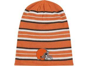 Cleveland Browns Reebok Cuffless Reversible Long Knit Hat
