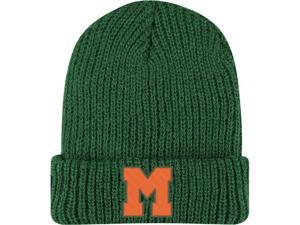 Miami Hurricanes Adidas Retro Yarn Cuffed Knit Hat