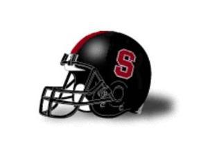 Stanford Cardinals Mini Authentic Schutt Black Helmet