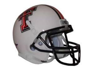 Texas Tech Red Raiders Mini Authentic Schutt White Helmet