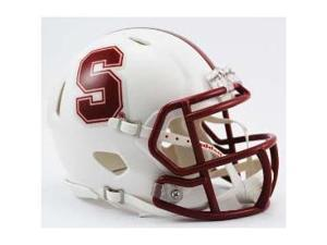 Stanford Cardinals Mini Speed Football Helmet
