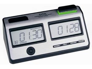 Saitek Silver Digital Chess Clock