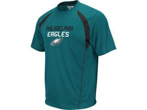 Philadelphia Eagles Reebok Trainer Jade Performance Shirt - XXL