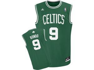 Rajon Rondo Adidas Boston Celtics Green Revolution Replica Road Jersey - XXL