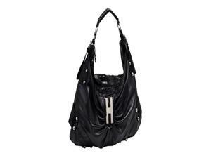 "Parinda Dianthe 20"" Croco Embossed Faux Leather Large Handbag"