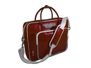 Ice Red Designs Shine 2 glossy compact laptop bag