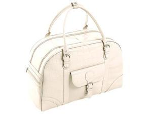 Siamod Monterosso Buranco Leather Ladies' Duffel Bag