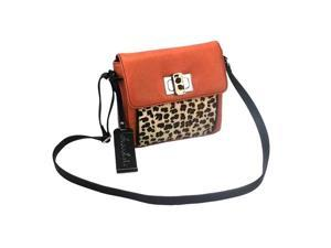 Chocolate New York Maite Crossbody with Leopard