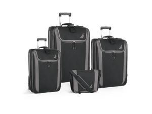 Nautica Spinnaker 4 Piece Expandable Upright Luggage Set