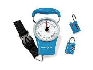 Samsonite Travel Accessories Scale & Lock Kit Gift Set