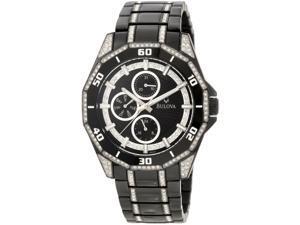 Bulova Men's 98C111 Crystal Multifunction Watch