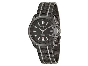 Seiko Perpetual Calendar Black Dial Men's watch #SNQ121