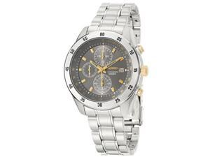 Seiko Chronograph SNDC51 Men's Chronograph Tachymeter Quartz Watch