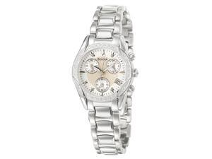 Bulova Diamond Collection Anabar Chronograph Silver Dial Women's watch #96R134