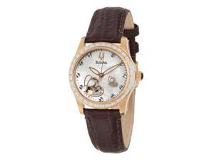 Bulova Diamond Womens Watch 98R139