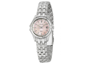 Seiko Le Grand Sport SXDC95 Women's Stainless Steel Quartz Watch with Pink Dial
